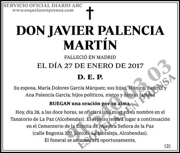 Javier Palencia Martín